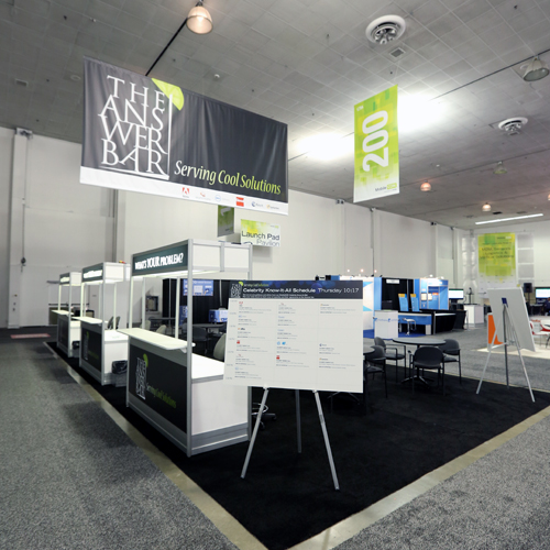 Answer Bar at CTIA Super Mobility 2015