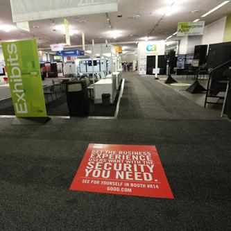 CTIA Super Mobility Floor Tiles