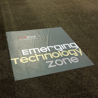 Floor Tiles at CTIA Super Mobility 2015