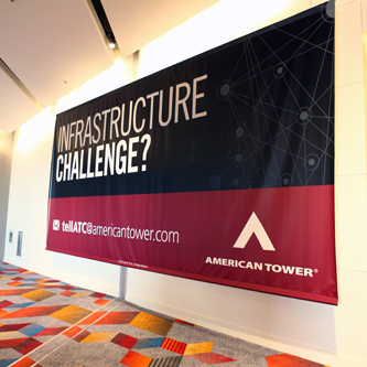 Banners/Column Wraps at CTIA Super Mobility 2015