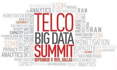 Telco Big Data Summit at CTIA Super Mobility 2015